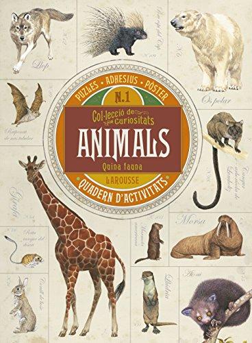 Descobreix l?increïble món dels animals amb aquest quadern d?activitats esplèndidament il·lustrat. Conté un gran nombre de dades fabuloses, puzles d?animals, adhesius fantàstics i un pòster desplegable per continuar descobrint espècies animals. Prepa...
