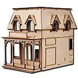 Half Scale Brimble Laser Cut Dollhouse Kit 1/2