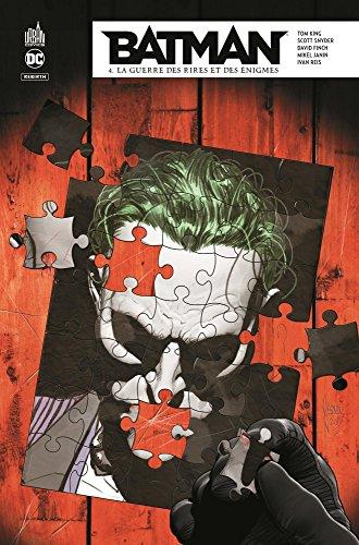 Batman Rebirth, Tome 4 : La guerre des rires et des énigmes par Tom King