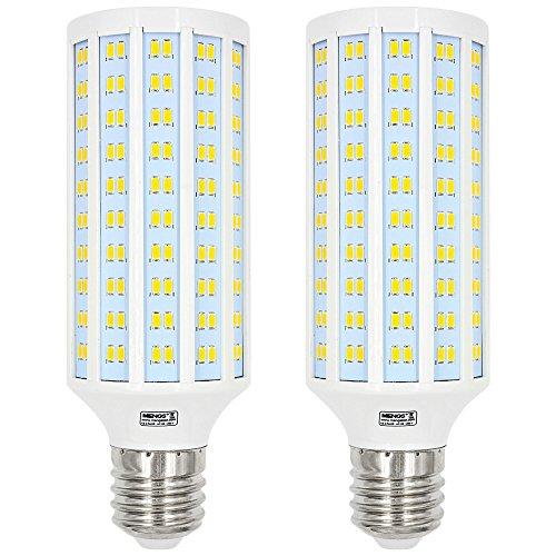 MENGS® 2unidades E4040W Bombilla LED 280X 5730SMD Blanco cálido 3000K AC 85–265V