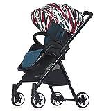 SUBBYE Kinderwagen Baby-Spaziergänger Ultra-leichte tragbare hohe Landschaft kann im Baby-Auto sitzen Baby-Kinderwagen ( Farbe : D )