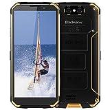 Blackview BV9500 Smartphone IP68, IP69K Impermeabile, 10000mAh Batteria, Octa-core 4GB 64GB, 5.7 Pollici FHD+, 16.0 e 13.0 MP, Android 8.1, Dual 4G, Carica Wireless, Rugged Smartphone - Giallo