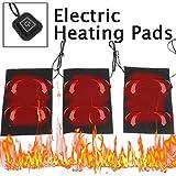 Safe tyon riscaldamento pad 3pcs waermepad elettrico con 3Livelli di Temperatura, Piastra riscaldante per schiena collo braccio e animali, Heating Pad con cavo USB