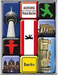 Nostalgic Art 83011 Ampelmann Berlin, Magnet Set 9-Piece