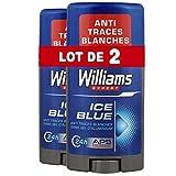 Williams Déodorant Homme Stick Ice Blue 75ml - Lot de 2