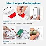 YYQ-Campanello-Senza-Fili-da-Esterno-Impermeabile-IP44-Wireless-Doorbell-Bianco