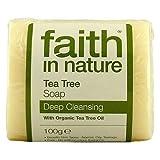 Faith In Nature Hand Made Tea Tree Soap With Tea Tree Oil 100g