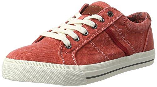 BRAX - Marcello Low Sneaker, Scarpe da ginnastica Uomo Rosso (Rosso)