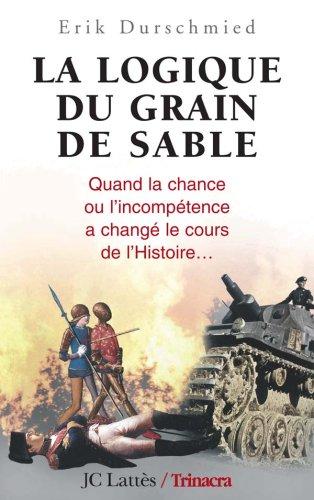 La Logique du grain de sable : quand la chance ou l'incompétence a changé le cours de l'Histoire