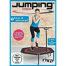 Jumping Fitness - basic & advanced: Fit mit dem Minitrampolin Mit 2 DVDs