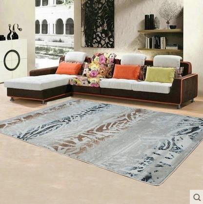 Abstract Wolle (GRENSS 80 cm * 120 cm Luxus im europäischen Stil Abstract Teppich, Moderne Wohnzimmer Das Schlafzimmer Teppiche, die Manuelle Wolle Matten, 2,80cmX120cm)