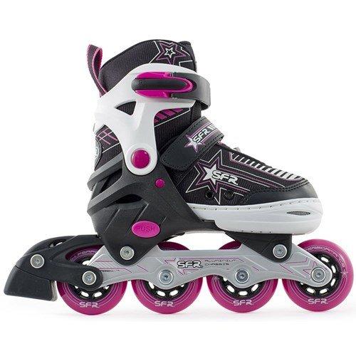 sfr-pulsar-inline-skates-verstellbar-kinder-schwarz-pink-madchen-schwarz-pink-255-29