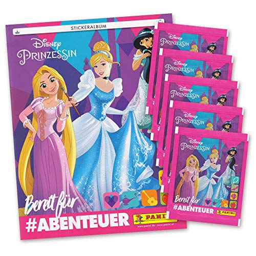 Disney Prinzessin Edition 2019 Sticker - Sammelalbum + 5 Booster Tütchen - deutsch -