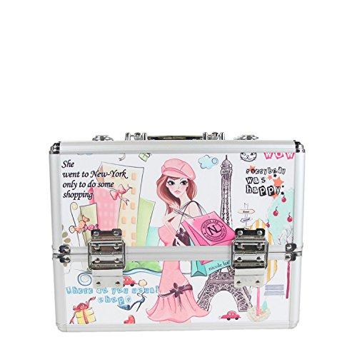 nicole-lee-priscilla-12-inch-cosmetic-aluminum-case-shopping-girl-one-size