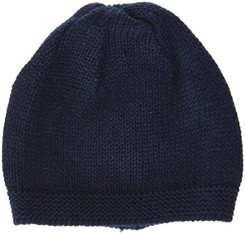 Sterntaler Baby - Jungen Mütze Strickmütze 1701411, Einfarbig, Gr. 33, Blau (Marine 300)
