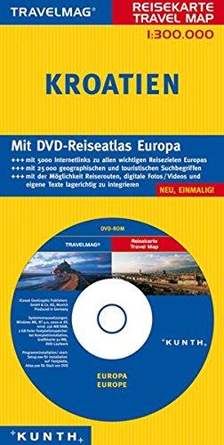 Reisekarte : Kroatien (+ DVD-Rom)