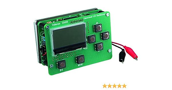 Velleman Edu08 Oszilloskop Lernpaket Lcd Display Baumarkt