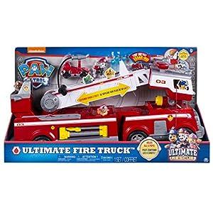 Paw Patrol Ultimate Rescue Fire Truck vehículo de juguete - Versión IMPORTADA