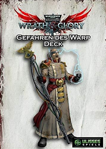 WH40K Wrath & Glory - Gefahren des Warp Kartendeck (Wrath and Glory Zubehör)