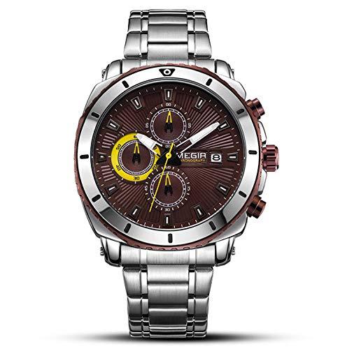TLgf Herrenuhr, Sport Casual Quartz Uhren wasserdichtes dreidimensionales -