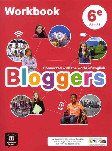 Anglais 6e A1-A2 Bloggers : Workbook