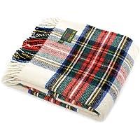 Tweedmill Textiles - made in the UK Dress Stewart - Manta de Picnic de Lana Hecha en Reino Unido