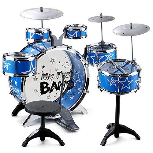 papay Kindertrommeln Emulation Große Jazztrommel Anfänger Musik Spielzeug Schlaginstrument Kombination Set Früherziehung Puzzle