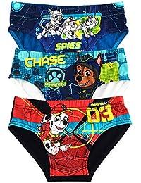 Paw Patrol calzoncillos ropa interior muchachos niños algodón - paquete de 3