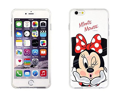 Disney Winnie Mickey Daisy & Donald Duck Clear TPU Soft Case For Apple iPhone 7 MINNIE MOUSE .1