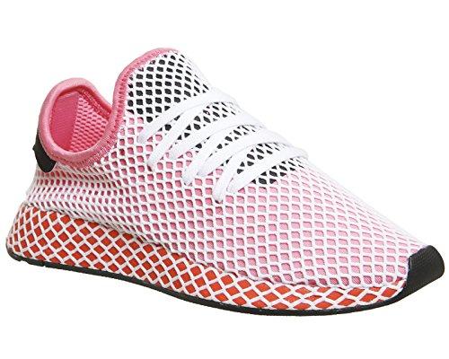 adidas Damen Deerupt Runner W Gymnastikschuhe Pink (Chalk Pink S18/chalk Pink S18/bold Orange)