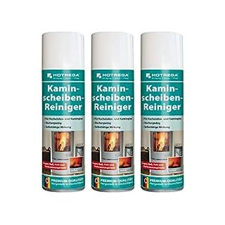 Hotrega H130907 Kaminscheiben-Reiniger - 3er Set