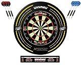Winmau, Blade-5-Dartscheibe und Xtreme-Umrandungs-Set