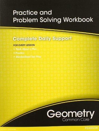 HIGH SCHOOL MATH COMMON-CORE GEOMETRY PRACTICE/PROBLEM SOLVING WORKBOOK GRADE 9/10 by PRENTICE HALL (2011) Paperback