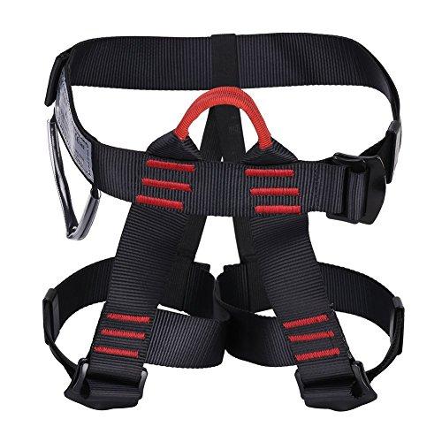 Preisvergleich Produktbild GHB Klettergurte Sicherheitsgurt Baumpfleger mit einstellbar Taille für Bergsteigen Klettern Outdoor