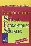 Dictionnaire des sciences �conomiques...