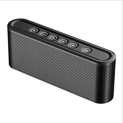 Metall Bluetooth Audio Mobiler Computer Laptop Subwoofer Mini Kanone Wireless-Karte Kleiner Lautsprecher,Black (Akustik-wireless-lautsprecher)