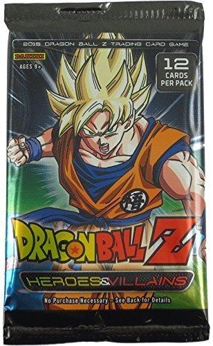 Panini - 2015 Dragonball Z Card Game - Heroes & Villains - PACK (12 Cards) by Dragon Ball Z (Dragon Ball Panini Z)