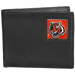 NFL Cincinnati Bengals Leather Bi-fold Wallet