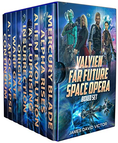 Valyien Far Future Space Opera Boxed Set (English Edition)