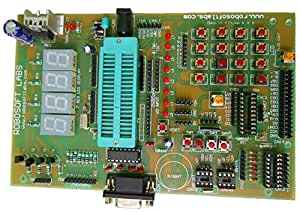 Robosoft Labs 8051/8052 (40 pin) Microcontroller Development Board With RS232
