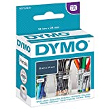 DYMO LW Etichette Multiuso Originali, Autoadesive, per Etichettatrici LabelWriter, 1 Rotolo da 1.000 Etichette Facilmente Staccabili, 13 x 25 mm