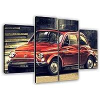 Amazon It Fiat 500 Includi Non Disponibili Stampe E Quadri