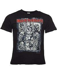 Noir Iron Maiden Eddies neuf TShirt homme damplifi