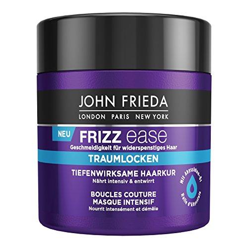 John Frieda Frizz Ease Traumlocken Haarkur - 2er Pack (2x 150 ml) - tiefenwirksam - nährt intensiv und entwirrt - für lockiges Haar - mit Abyssinian-Öl