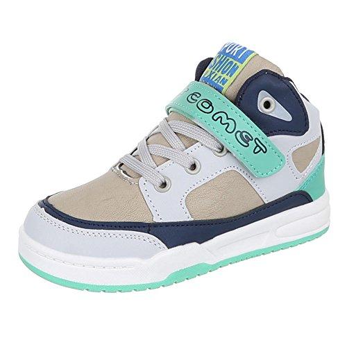 Kinder Schuhe, 1020, FREIZEITSCHUHE SPORTLICHE SNEAKERS Beige