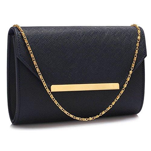 TrendStar Großen Lederhandtasche Damen Handtasche Umschlag Neue Geldbörse Der Frauen (Hand Wulstige Kupplung)