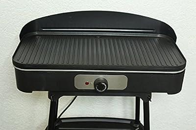 Elekrogrill Tischgrill Stnadgrill Elektro Grill Grillplate Barbecue 2200 Watt