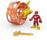 DC Fisher-Price – Imaginext Super Friends – Flash & Cycle – 1 x Mini-Figur + Fahrzeug