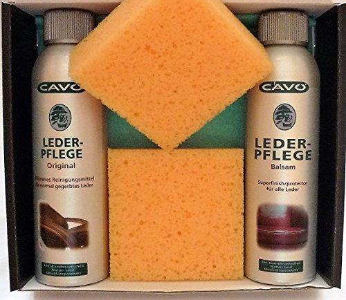 CAVO Lederpflegeset gross