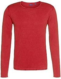 TOM TAILOR Messieurs Sweat-shirt 100 % coton